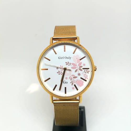 GO GIRL ONLY ženski ručni sat u zlatnoj boji
