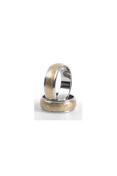 LEWIKO Zlatni vjenčani prsten s detaljima