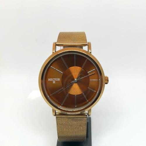 HECTOR H klasični zlatni muški sat od čelika