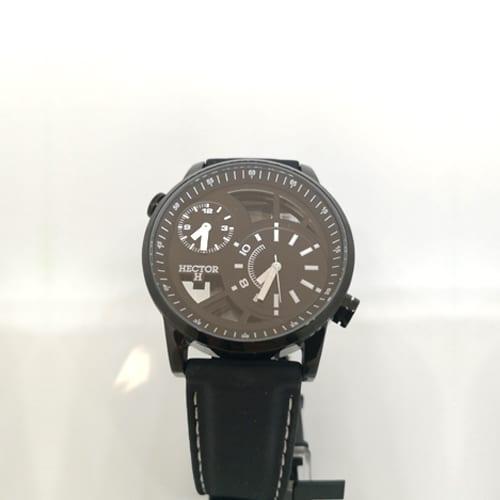 HECTOR H kronografski ručni muški sat u crnoj boji